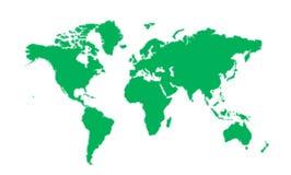 mapa wektor Obraz Royalty Free