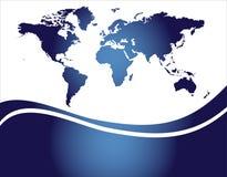 mapa świat Obraz Stock