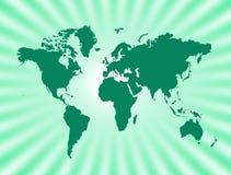 mapa świat obraz royalty free