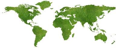 mapa świat Zdjęcie Stock