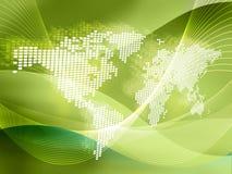 mapa świata Obrazy Stock