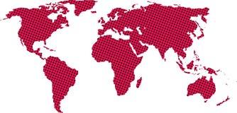 mapa świata Obraz Stock