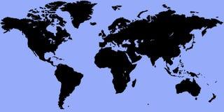 mapa świata Ilustracja Wektor