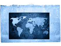 mapa świata Zdjęcie Stock