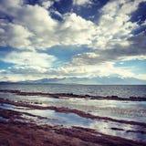 Mapam. The god lake of Tibet Stock Photos