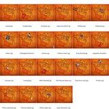 Mapas da administração de france Imagem de Stock Royalty Free