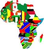 Mapas do esboço dos países  Imagens de Stock Royalty Free