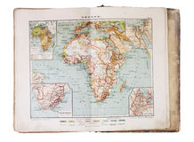 Mapbook Stock Photo
