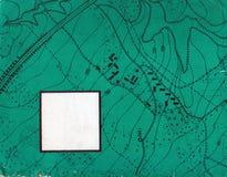 Mapeamento de contorno do vintage Ilustrações naturais da impressão dos mapas fotos de stock