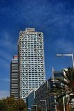 Mapfre tower and Hotel Arts Stock Images