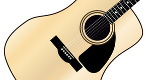 Maple Acoustic Guitar Stock Images