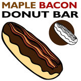 Maple Bacon Bar Royalty Free Stock Image