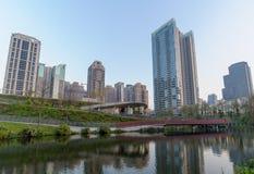 Maple garden in taichung city stock photos