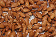 Maple Glazed Almonds Stock Images