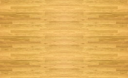 Maple hardwood basketball floor pattern as viewed from above. Stock Image
