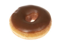 Maple Iced Ring Doughnut Royalty Free Stock Photo