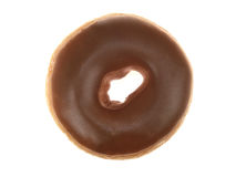 Maple Iced Ring Doughnut Royalty Free Stock Photography
