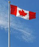 The Maple Leaf - Canada's National Flag stock photography