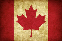 Maple Leaf flag of Canada Royalty Free Stock Photo