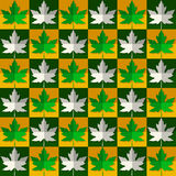 Maple leaf pattern Royalty Free Stock Image