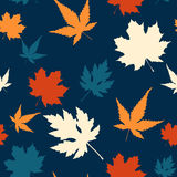Maple leaf seamless pattern Stock Photo