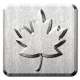 Maple Leaf Sign Royalty Free Stock Photos