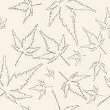 Maple leafs texture Royalty Free Stock Photography