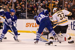Maple Leafs v. Bruins Mikhail Grabovski Stock Photo