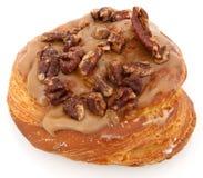 Maple Pecan Doughnut royalty free stock image