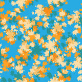 Maple seamless pattern Royalty Free Stock Images
