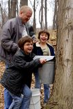 Maple Sugaring with Dad Royalty Free Stock Image
