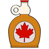 Maple syrup stock illustration