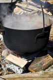 Maple Syrup Making Royalty Free Stock Images