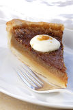 Maple syrup sugar pie Royalty Free Stock Photos