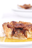 Maple syrup tart Royalty Free Stock Photography
