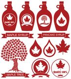 Maple Syrup. Vector illustration (EPS 10 Royalty Free Stock Images