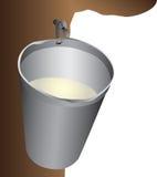 Maple Water Bucket Stock Photography