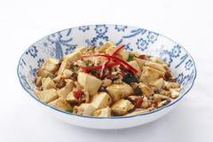 Mapo tofu royaltyfria foton