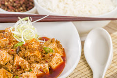 Mapo Tofu Royalty Free Stock Photo