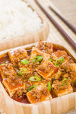 Mapo Tofu Stock Photo