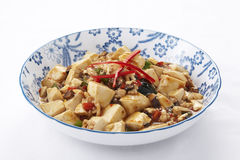Mapo tofu Royalty Free Stock Photos