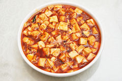 Mapo tofu Royalty Free Stock Images