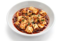 Mapo tofu, sichuan style Stock Images