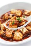 Mapo tofu, sichuan style Stock Photo