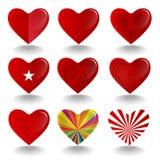 Mapp för förälskelsesymboluppsättningar för allmänt bruk Royaltyfri Bild