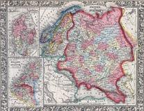 Mappa antica della svezia e della norvegia fotografia for Programma della mappa della casa