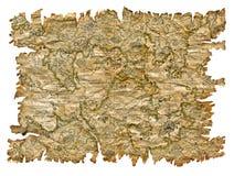 Mappa del pirata Immagini Stock