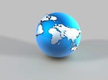 Mappa di mondo Fotografia Stock Libera da Diritti