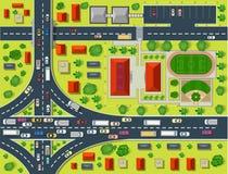 Mappa di una cima Fotografia Stock