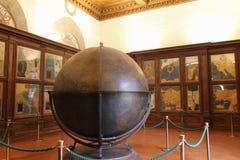 Mappa Mundi w Hall geographical mapy w Palazzo Vecchio, Florencja, Tuscany, Włochy Zdjęcie Stock